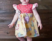 Baby Girls Outfit - 1st Birthday Outfit - Baby Girls Dresses - Baby Shower Gift - sizes new born to 24 months