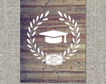 Graduation Funny Greeting Card