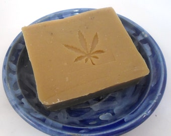 Lavender Patchouli Shampoo bar - Hemp Oil shampoo bar - Vegan Shampoo Bar