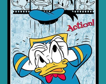 NEW Donald Duck Film Strip Disney PANEL