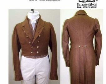 Laughing Moon Man's Regency Tailcoat pattern 121