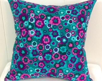 Decorative Pillow, Sofa Pillow, Floral Print, Accent Pillow, Throw Pillow, Home Decor, Gift Idea, Decorative Sofa Pillow, Bed Pillow