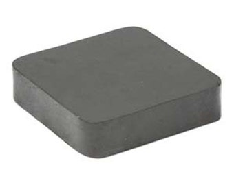 """Rubber Bench Block 4"""" x 4"""" x 1"""" Hammer Stamping Jewelry Metal Forming Block"""