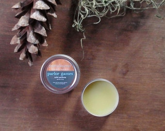 parlor games: solid perfume / the games we play