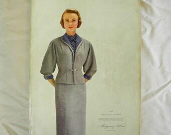 Vintage catalog, Montgomery Ward, Spring, Summer, 1954, 1950s, fashion, home décor, mid century, ephemera