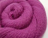 Recycled Cashmere Yarn - Lace - Recycled Yarn - Berry 70615