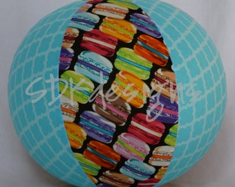 Balloon Ball TOY -Rainbow Macaroons - As seen with Michelle Obama on Parenting.com