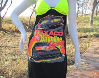 Texaco Havoline Racing t shirt bikini dress