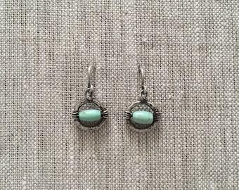 Little Mondo Sterling Silver & Turquoise Earrings
