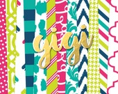 Gigi Digital Paper Pack (Instant Download)