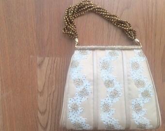 Vintage Judith Leiber Swarovski crystal small handbag