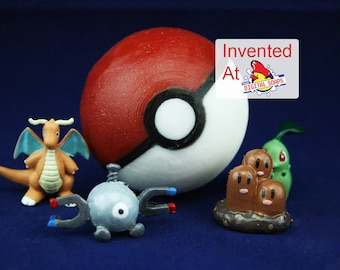 Pokeball Soap with Toy Inside, Invented by DigitalSoaps