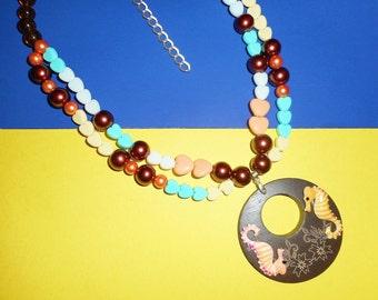Seahorse of Course Necklace