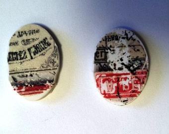 Vintage Label Charms #2.1