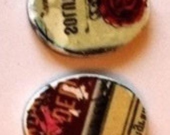 Vintage Label Charms #1.3
