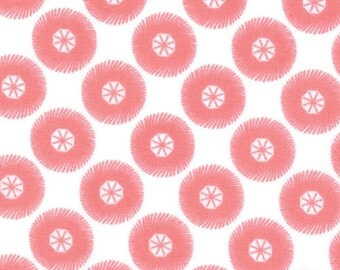 Posy 1 Yard Remnant 18556-19 Peachy Pink