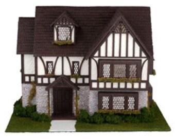 Complete Quarter Inch Tudor Style House Kit