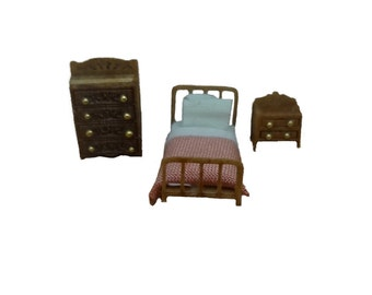Clearance - 144th Inch Scale  Country Farm Style Childs Room Furniture Kit
