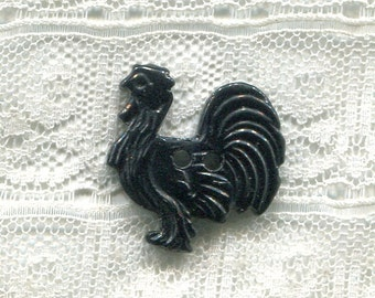 Bakelite Realistic Turkey Button
