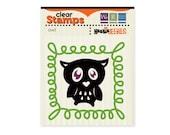 Halloween Owl Clear Stamp Set