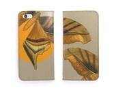 Leather iPhone 6 case, iPhone 6s Case, iPhone 6s Plus Case - Minimal Moth (Exclusive Range)