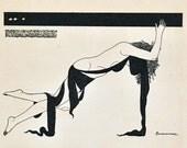 Vintage Japanese Art Deco Print - No. 61