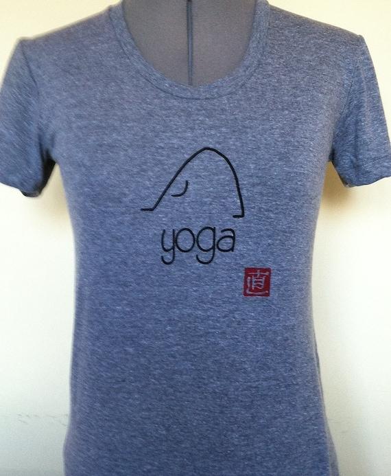 Yoga Shirt-Yoga Tshirt-Yoga Tee-Cotton Shirt-Cotton
