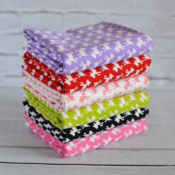 Kawaii Goat Fabric Half Yard Bundle Set