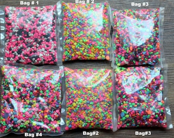 Terrarium stones-Small rocks-1 pound bags-Pebbles for small gardens-Vivariums-Weddings-Craft supplies
