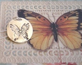 "The Butterfly ""A symbol of rebirth"" - Fine Silver - Handcrafted"
