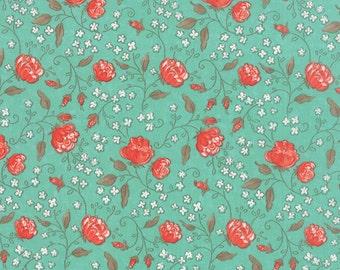 Aqua Sky Sweetness Fabric - Sandy Gervais - Moda - 17851 12