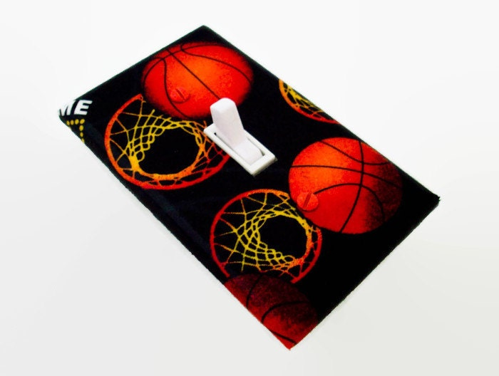 Basketball Light Switch Cover Sports Switch Plate Boys