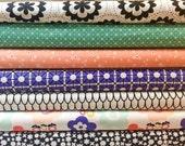 Set of 7, Art Gallery fabrics, Radical Bliss, your choice of cut (fat quarter,half yard, or yard cut)