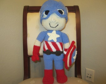 Red, White, And Blue Superhero