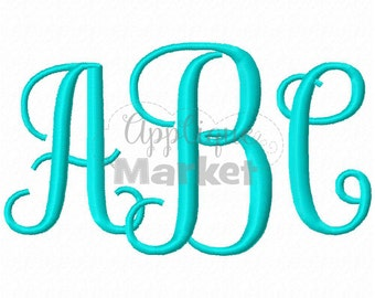 Machine Embroidery Design Embroidery Savannah Monogram INSTANT DOWNLOAD