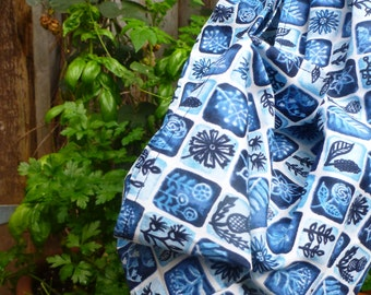 MidWifery Weigh Sling - Organic Cotton - Moody Blues