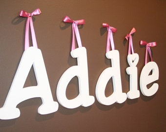 16 Inch Painted Wooden Wall Letters