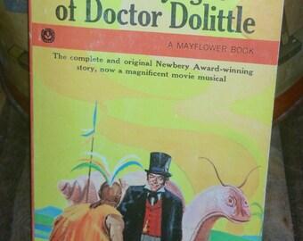 The Voyages Of Doctor Dolittle by Hugh Lofting Vintage Paperback Book