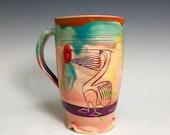 Mug: Tropical Pelican, Key West Wildlife