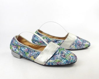 Travel Shoes Slippers Vintage 1960s House Foldable