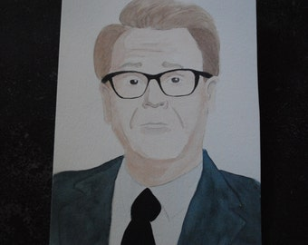 GREG PROOPS original watercolor illustration