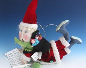 Santa Claus, Christmas Ornaments, Santa Ornaments, Santa Claus Doll, Santa Claus OrnamentsS