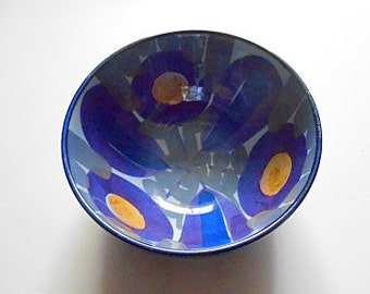 Modernist Royal Copenhagen-Aluminia TENERA Bowl, Kari Christensen, Danish Porcelain