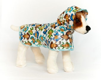 Monkey: Dog Raincoat, Waterproof Dog Coat, Dog Raincoat with Hood, Raincoats for Dogs