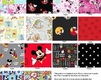 Disney Fabric Selection Chart ~ DO NOT Add to Cart
