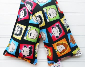 Peanuts Charlie Brown Microwavable Heating Pad and Ice Packs, Keepin' Cozy Willy Pad; Warm Compress and Cold Compress, Multiple Sizes