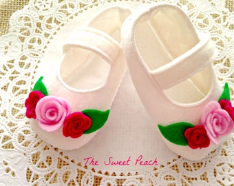 Garden Princess Soft Soled Shoes Sizes 0-18 months