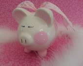 Pink Piggy Bank - Personalized