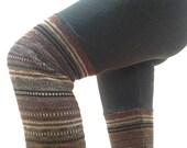 Striped Womens Leggings. Unique Leggings. Womens Workout Leggings. Funky Yoga Striped Pants. Winter Pants. Yoga Pants Women. Unique Gifts
