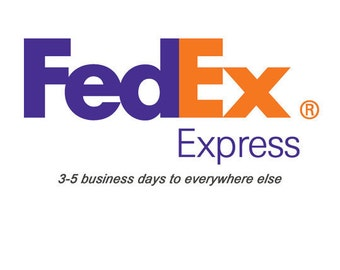 FEDEX EXPRESS SHIPPING- 2 to 3 working days
